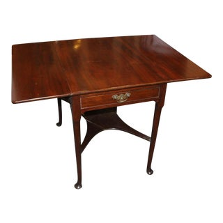 20th Century English Traditional Pembroke Dropleaf Table For Sale