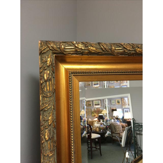 Le Barge Gold Carved Molding Mirror - Image 4 of 4