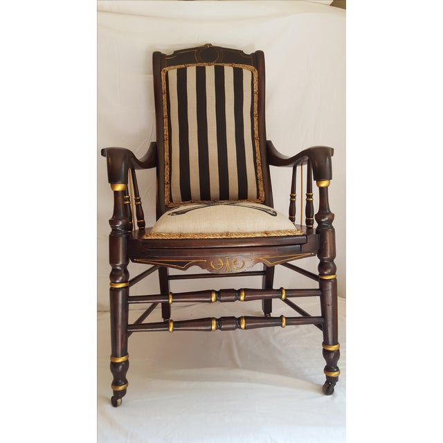 Skull and Bones Accent Chair - Image 7 of 8