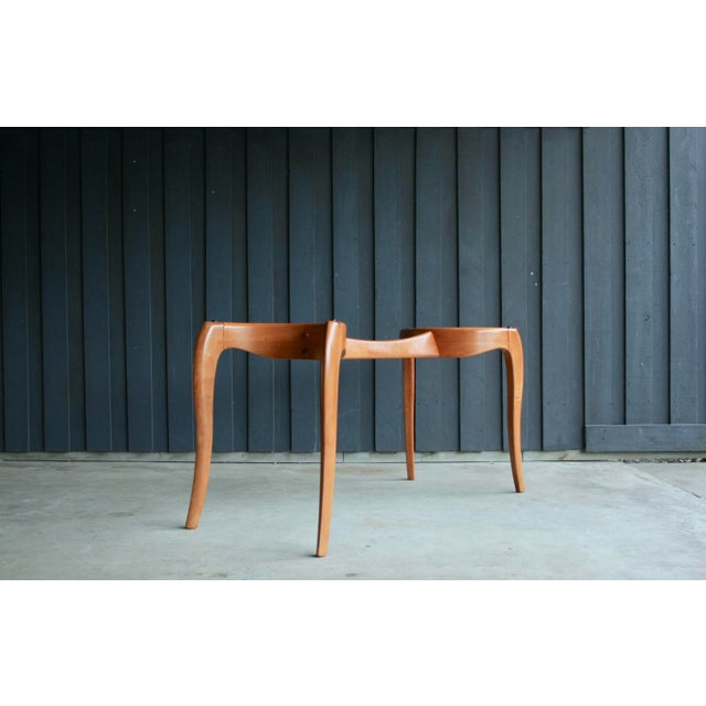 Danish Modern Anthropomorphic Carved Hardwood Dining Table For Sale - Image 10 of 13