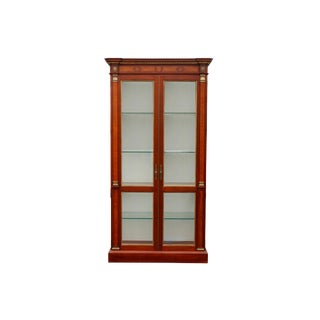 Greenbaum Interiors French Empire Display Cabinet For Sale