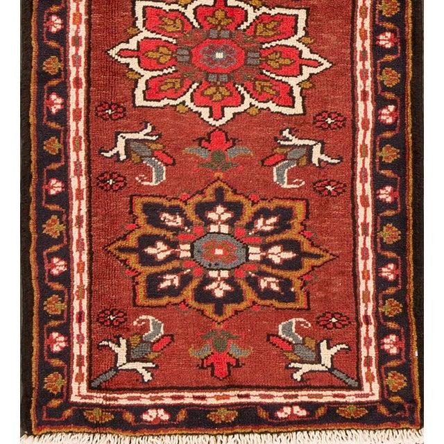 "Islamic Apadana - Vintage Persian Heriz Rug, 2'2"" x 6'6"" For Sale - Image 3 of 5"