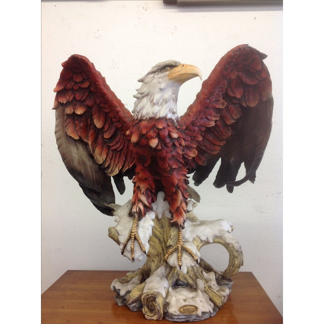 DeCapoli Collection Bald Eagle Sculpture For Sale - Image 7 of 9