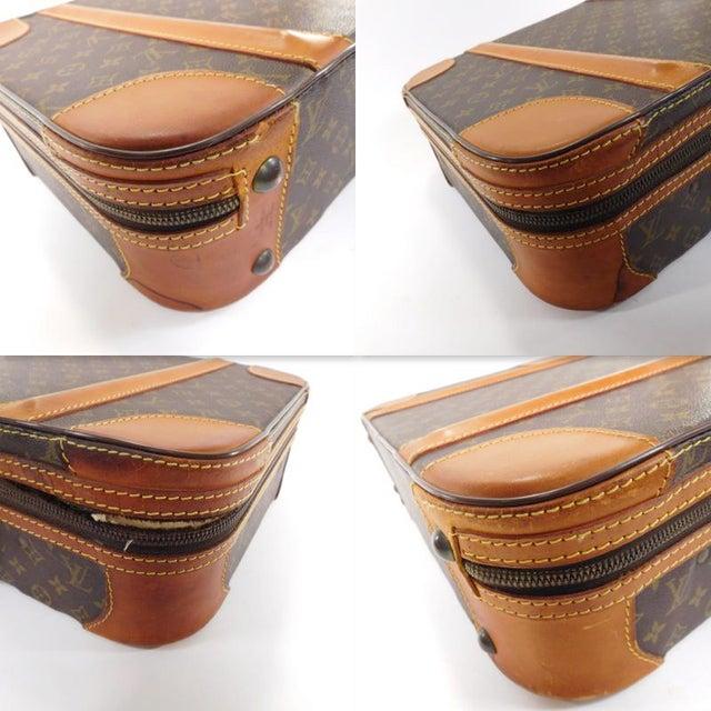 Authentic Vintage Louis Vuitton Suitcases - A Pair - Image 8 of 10
