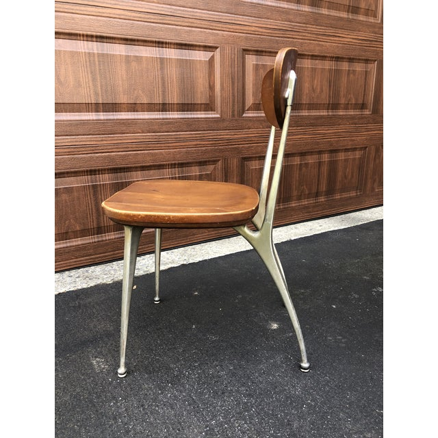 1950s Vintage Shelby Williams Gazelle Chairs - Set of 9 For Sale - Image 9 of 12