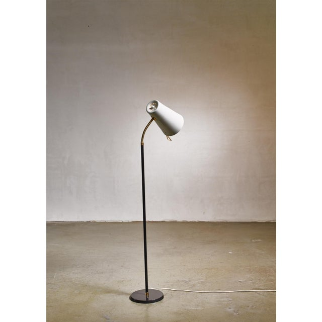 1950s Yki Nummi Floor Lamp for Orno, Finland For Sale - Image 5 of 8