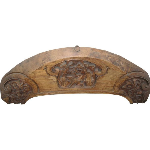 Origin: China Material: Wood Year: Late 19th C. Type of wood: Elm (w) 48″ x (d) 3″ x (h) 17″ (w) 119 x (d) 7 x (h) 43 cm...