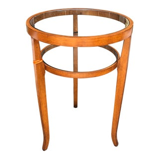 Round Art Deco Style Designer Table by Dessin Fournir For Sale