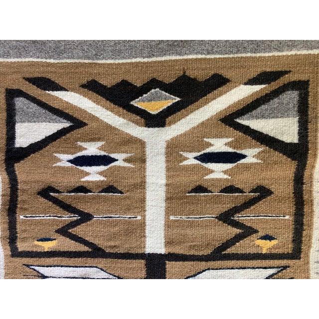 "1960s Vintage Navajo Pictorial Rug-2'4'x3'8"" For Sale - Image 11 of 13"