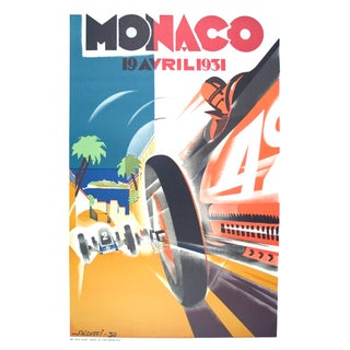 Robert Falcucci, Monaco Grand Prix 1932, 1983 For Sale