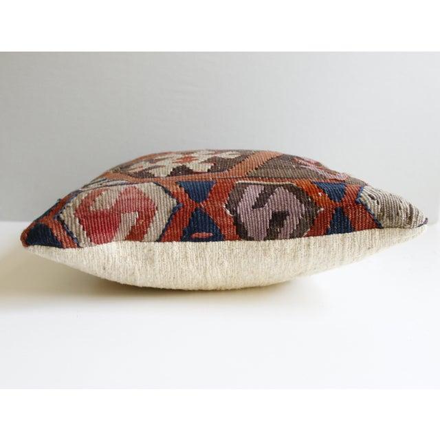 Vintage Turkish Kilim Pillow - Image 4 of 5