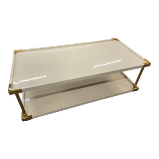 Bernhardt Brielle Lacquered Coffee Table For Sale