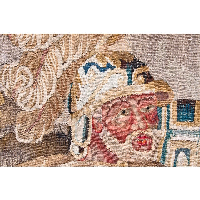 Gold Flemish Tapestry of Caesar returning to Rome For Sale - Image 8 of 9
