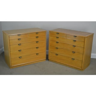 Edward Wormley for Drexel Precedent Pair Mid Century Modern Chests Preview