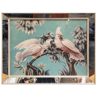 Billy Seay (1922-2012) Airbrush Cockatoo Hawaiian Art for Turner For Sale