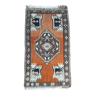 """Vintage Turkish Rugs-1'7'x3'7"""" For Sale"""
