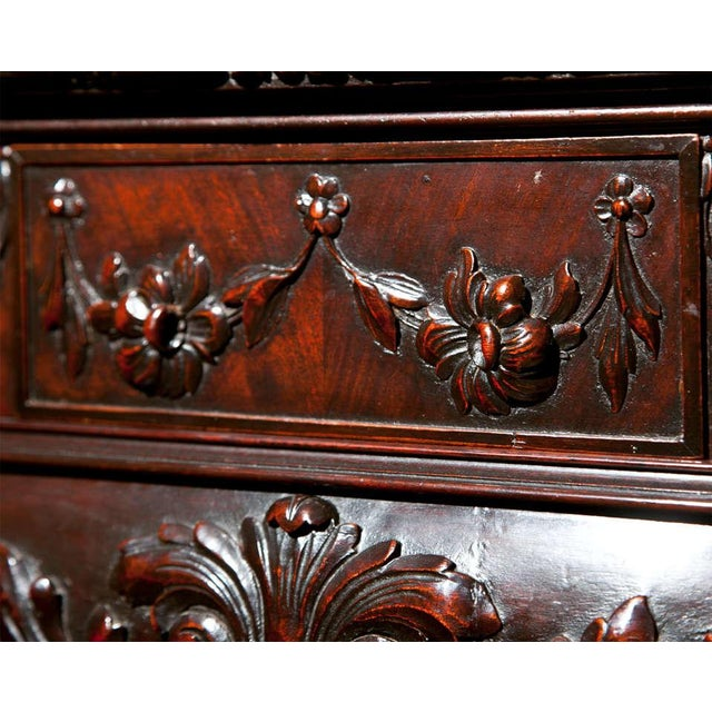 English Georgian Style Demilune Console Table - Image 6 of 8
