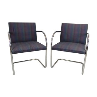 Ludwig Van Der Rohe BRNO Chairs - A Pair For Sale