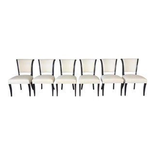 Barbara Barry for Baker Dining Chairs - Set of 6 For Sale