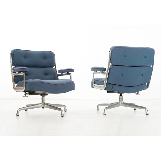Herman Miller Time Life Lounge Chairs by Charles Eames for Herman Miller For Sale - Image 4 of 9