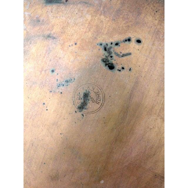 Black Vintage Revere Copper Skillet Pan For Sale - Image 8 of 9