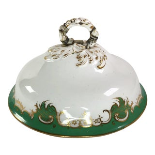 Antique Fine China Serving Dish Lid For Sale