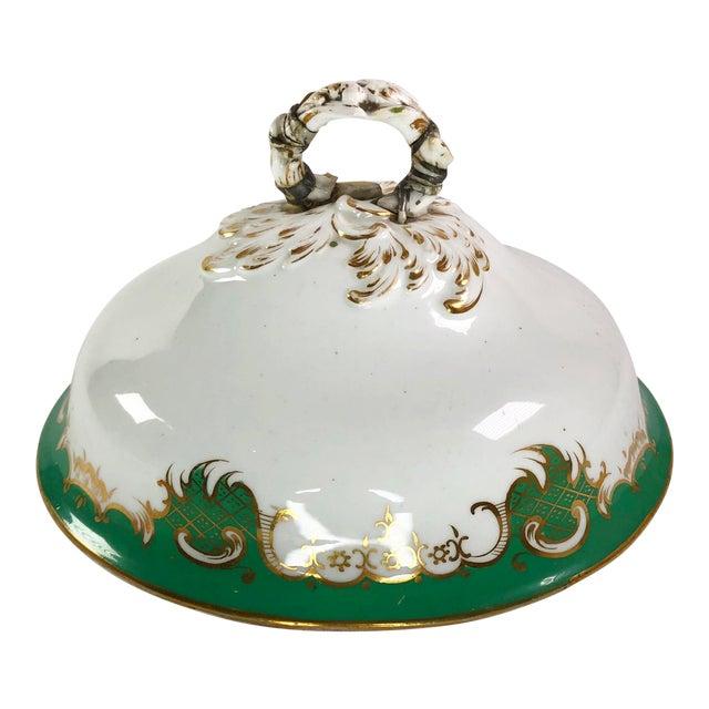 Antique Fine China Serving Dish Lid For Sale