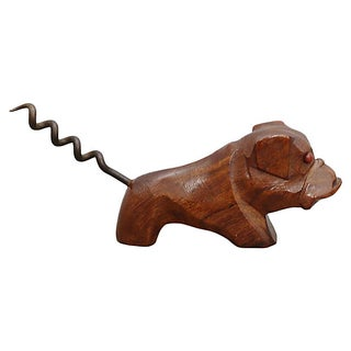 Mid-Century Bull Dog Corkscrew Preview