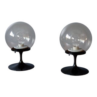 Mid-Century Modern Bill Curry Stemlite Lamps - a Pair For Sale