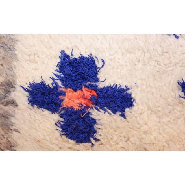 Vintage Moroccan Rug For Sale - Image 4 of 11