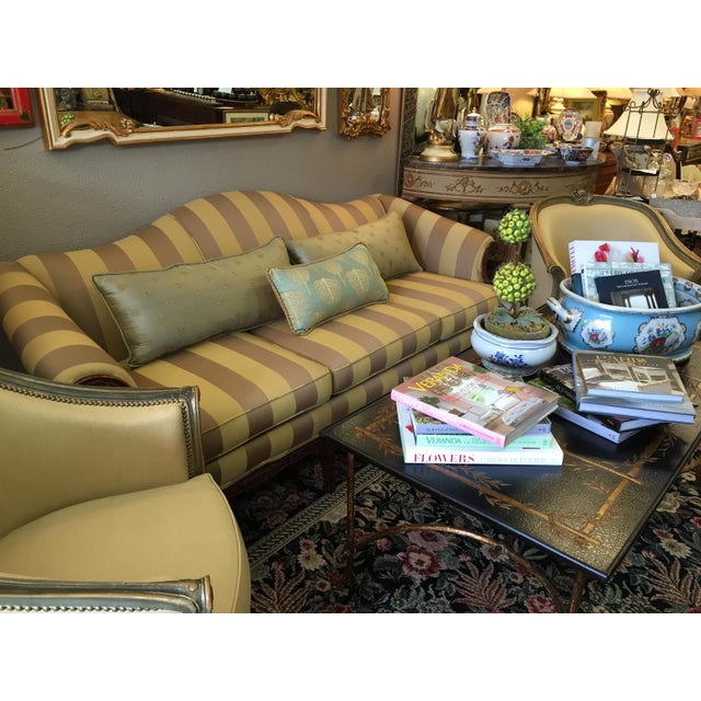 1920's Baker Chippendale Sofa For Sale In Detroit - Image 6 of 11