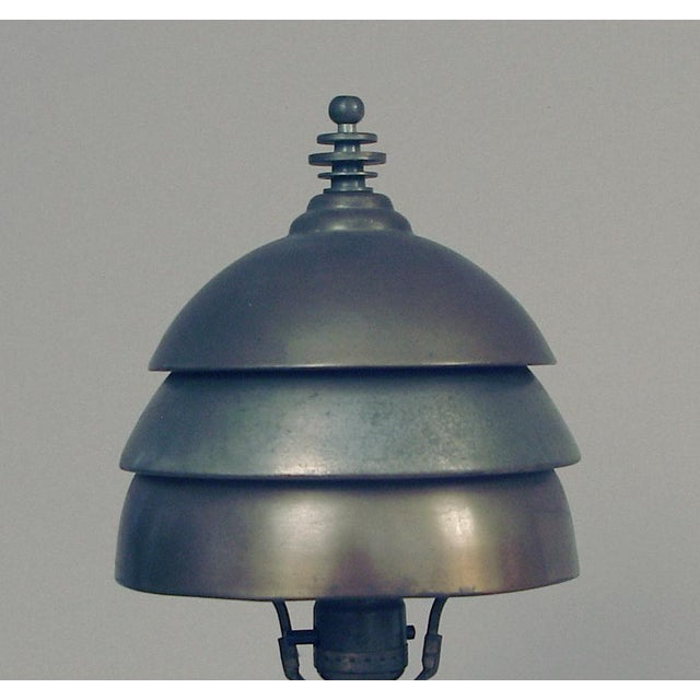 I wonder how often an all-original Markel table lamp comes up for sale, one that hasn't been restored or fiddled with (but...