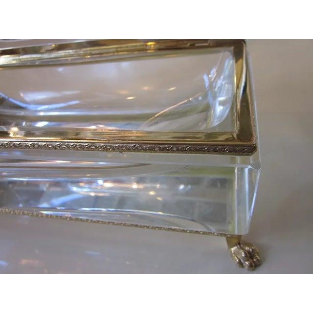 Mid-Century Modern Vintage Mandruzzato Murano Glass Box For Sale - Image 3 of 6