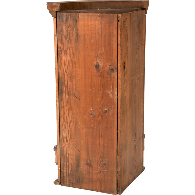 Swedish 18th C. Folk Corner Cupboard - Image 5 of 5