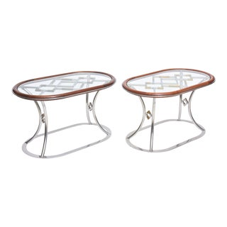 Pair of Maison Jansen Occasional Tables For Sale
