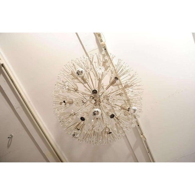 Modern Ceiling Hanging Austrian Chandelier For Sale - Image 3 of 7