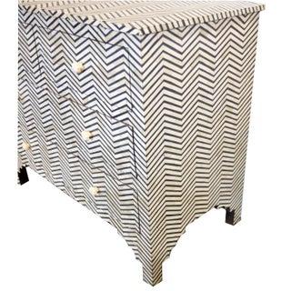 Ebony & White Bone Inlay Dresser Preview