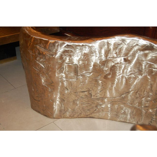 Bronze Customizable Bronze & Glass Coffee Table designed by Craig Van Den Brulle For Sale - Image 7 of 7