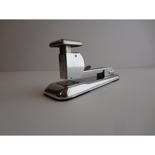 Industrial Vintage Arrow Chrome Desk Stapler For Sale - Image 3 of 5