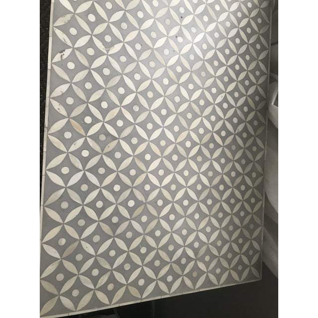 Boho Chic Vintage Restoration Hardware Rh Salma Mosaic Dresser For Sale - Image 3 of 7