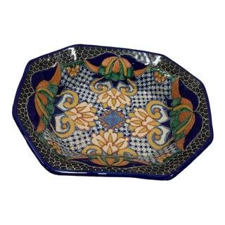 Southwestern Talavera Ceramic Bowl For Sale