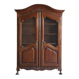 20th Century French Provincial Armoire For Sale
