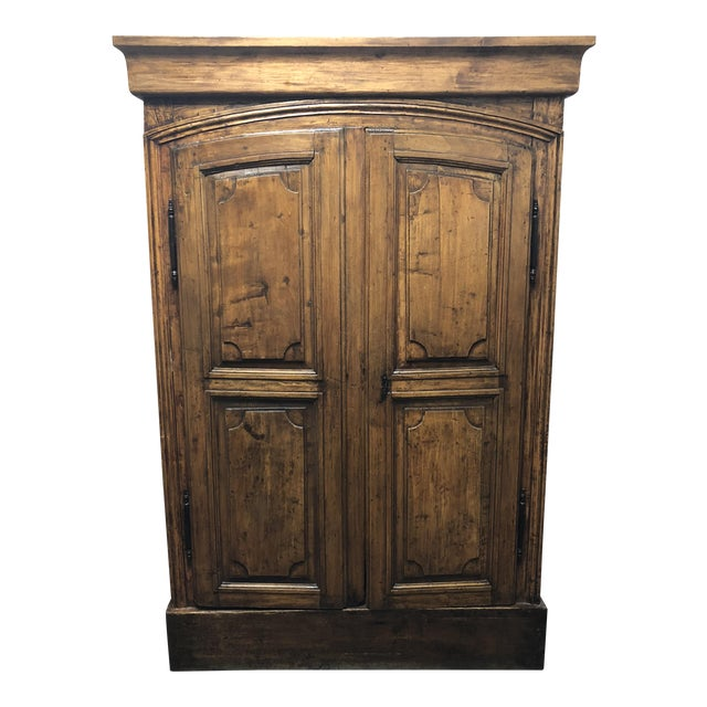 Vintage Pine Armoire - Image 1 of 10