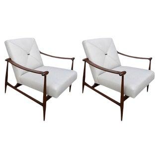 Liceu de Arte Chairs-A Pair For Sale