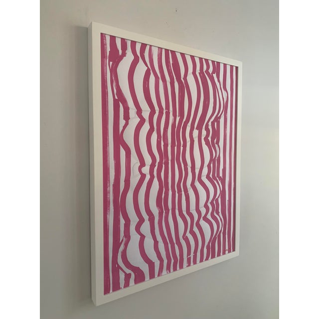 'Form Fitted' Contemporary Original Painting For Sale - Image 4 of 7