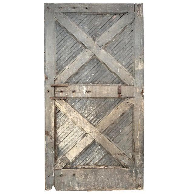 19th Century Vintage American Barn Door For Sale