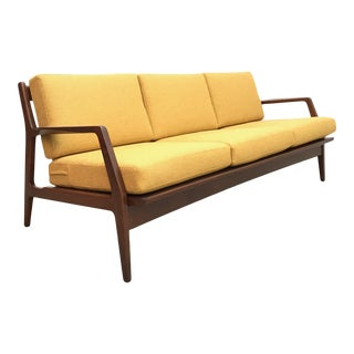 1950s Vintage Lb Kofod Larsen Danish Modern Sofa For Sale