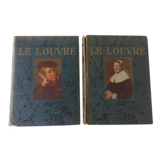 Le Musee du Louvre Books - A Pair For Sale