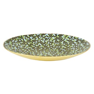 Huge Mid-Century Mosaic Tile Centerpiece Platter For Sale