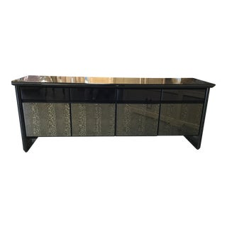 """Vintage """"Giorgio Collection"""" Italian Snakewood Credenza For Sale"""